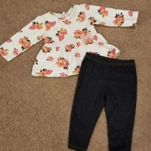 Pretty Baby Girls Rose Outfit 12M